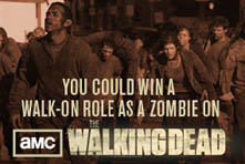 Watch and Win 221 Win a Walk On Role for The Walking Dead