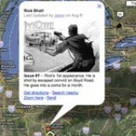 The Walking Dead Comic – Google Map
