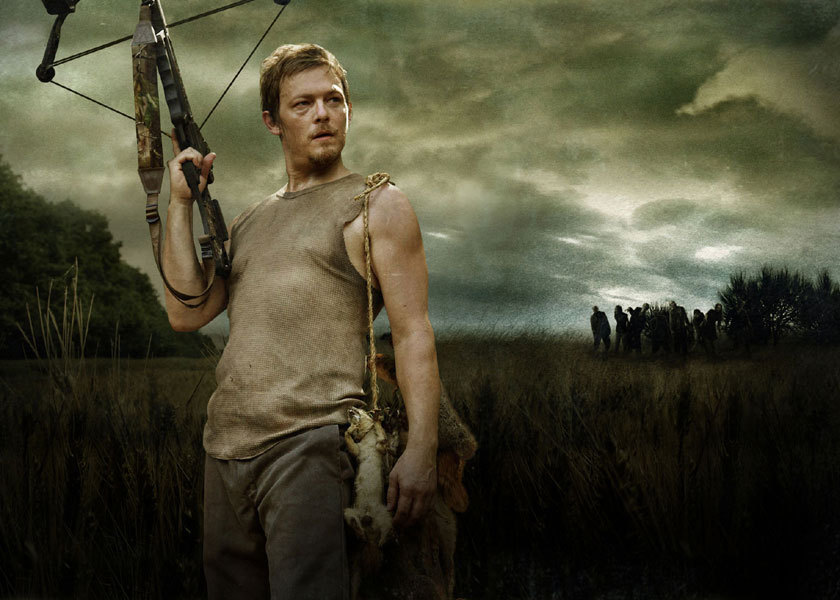 Daryl Dixon the walking dead 300x214 MTV Sits Down With Norman Reedus